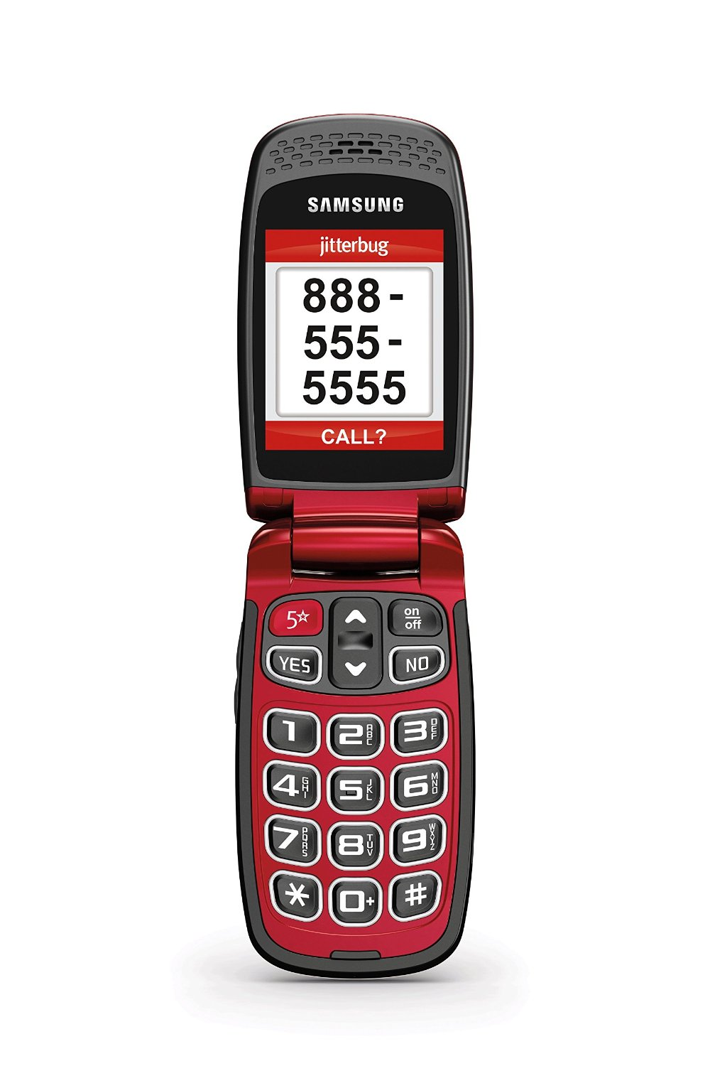 Jitterbug5 Amplified Cell Phone for Seniors