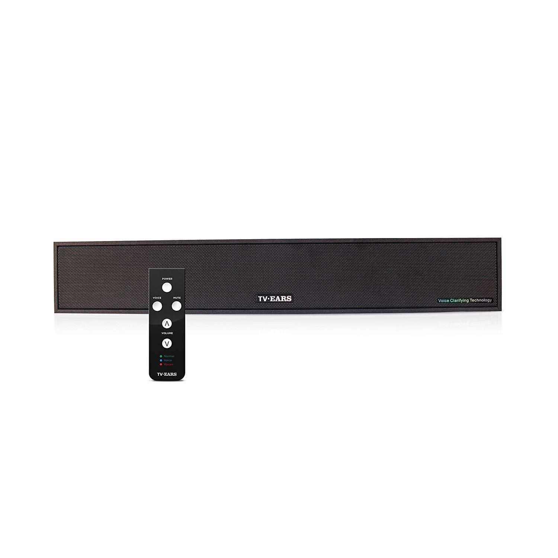 TV Ears Voice Clarifying TV Sound Bar